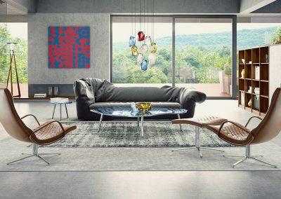 3d render livingroom modern by ProNest