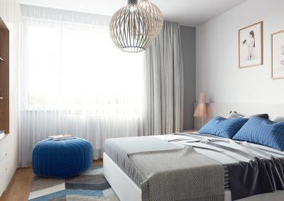 Hyper realistisk 3D visualisering av soverom