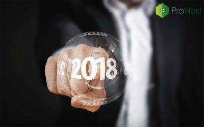 El sector inmobiliario en 2018