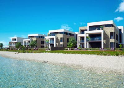 3D render beach villas by ProNest